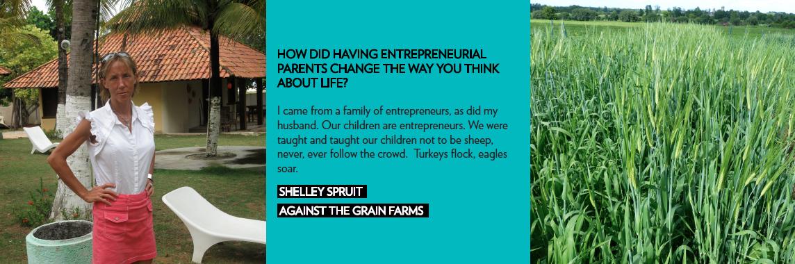 shelley spruit against the grain farms social media entrepreneur girlboss community werule
