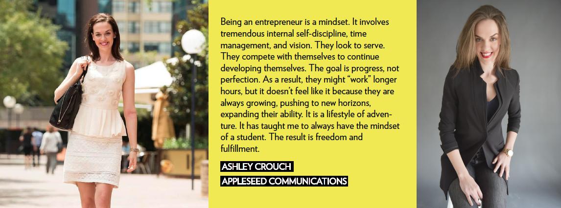Ashley Crouch Appleseed Communications Female Entrepreneur We Rule Woman Owned Business social media entrepreneur girlboss community werule