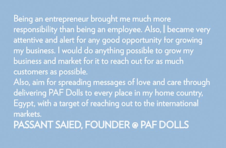 we rule werule passant saied paf dolls egypt middle east toys girls business entrepreneur new york community