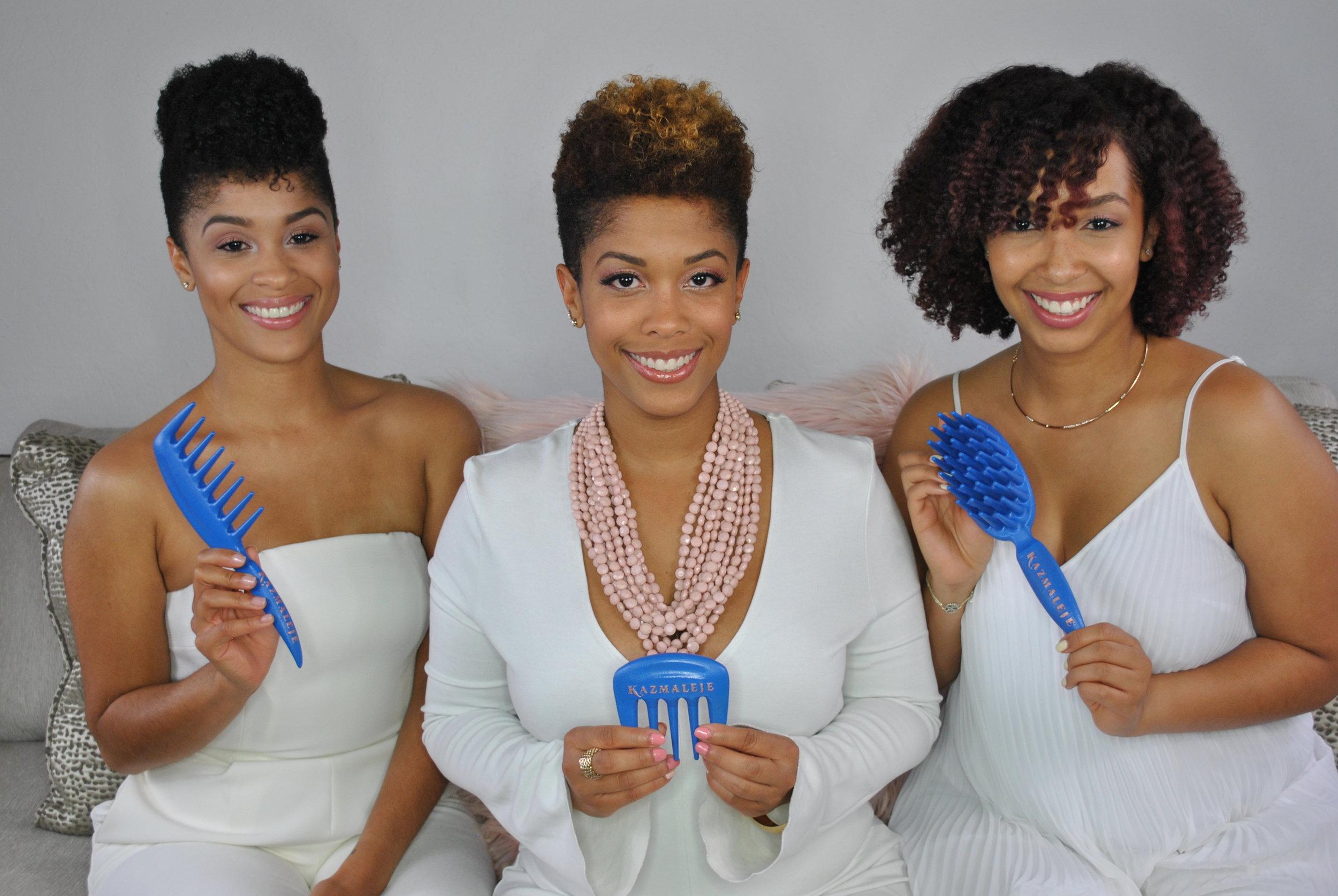 Kazmaleje Sisters hair product comb entrepreneur girlboss werule justyna kedra we rule business.JPG