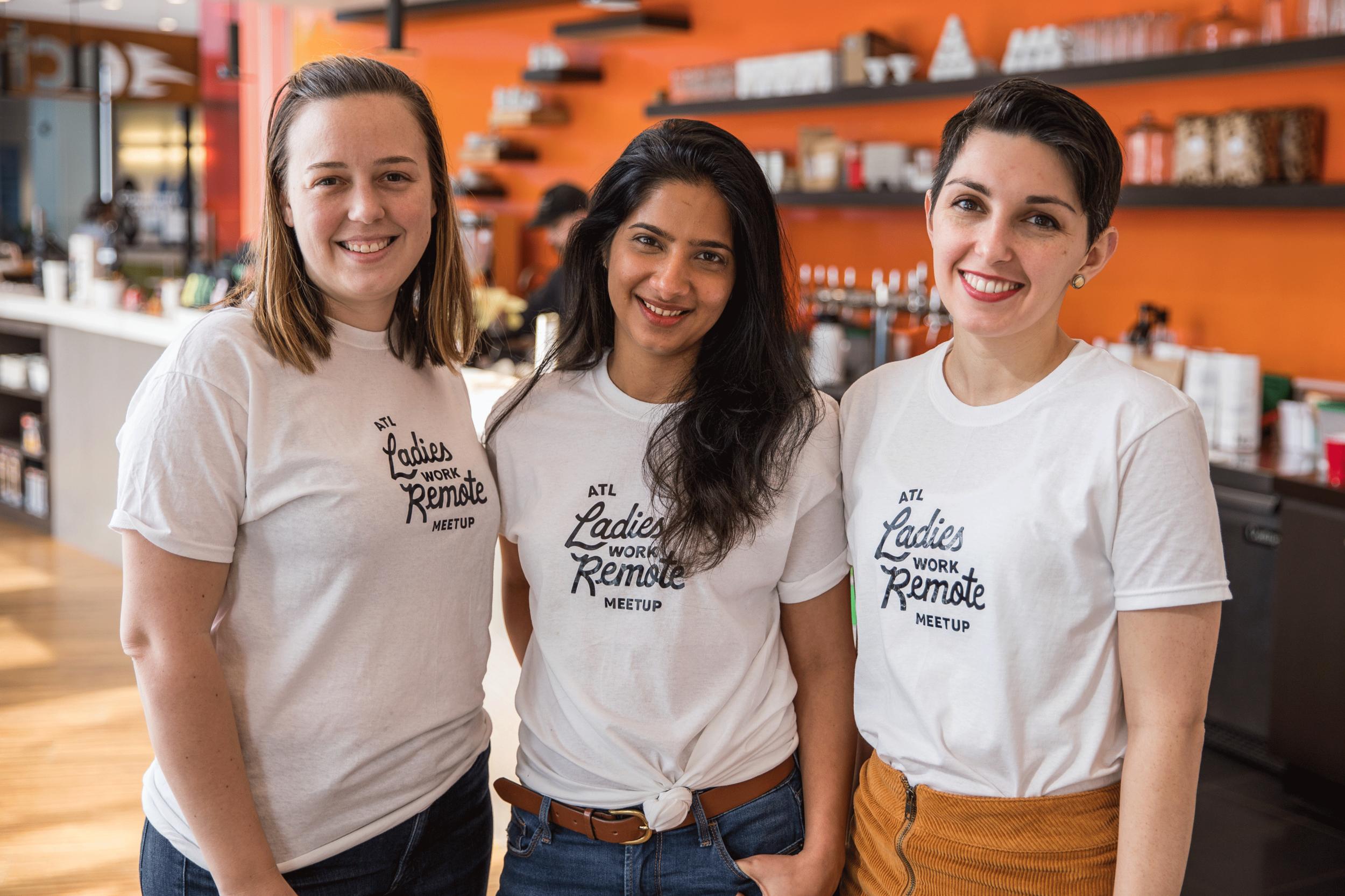 Liz Shinn Ladies Work Remote Co. we rule interview founder girlboss boss babe new york nyc