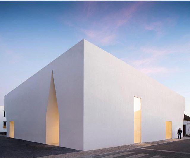 Grandola Community Center! Designed by Aires Mateus. Photo from @architizer #portugal #handmade #grândola #architecture #arquitectura #design #interiordesign #style #styleinspiration #details #community #saudadetoronto #littleportugal #thesix