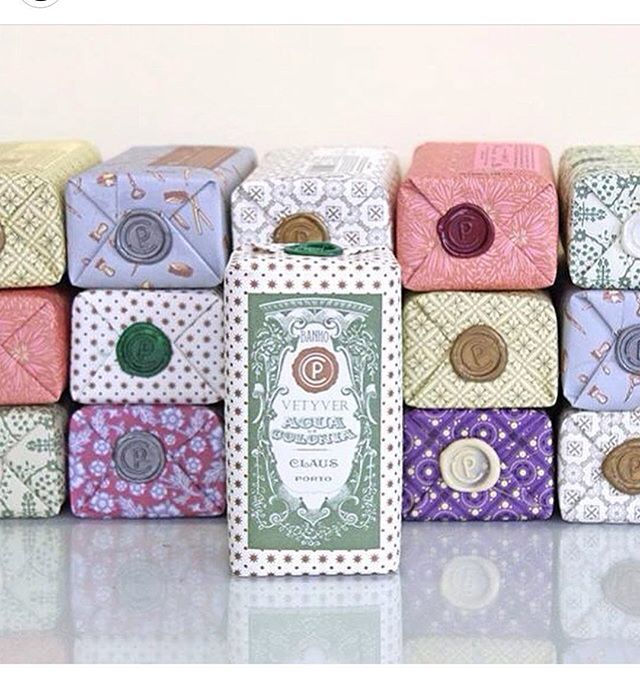Most beautiful packaging from @clausporto. #portugal #handmade #design #style #styleinspiration #soap #packagingdesign #apothecary #lotion #cologne #shavingcream #saudadetoronto #littleportugal #thesix