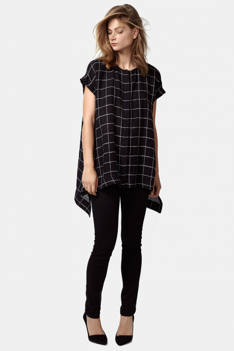 The Icicle Tunic is a style that can be worn alone or with a long sleeve turtleneck layered underneath – it's been a bestseller this season!