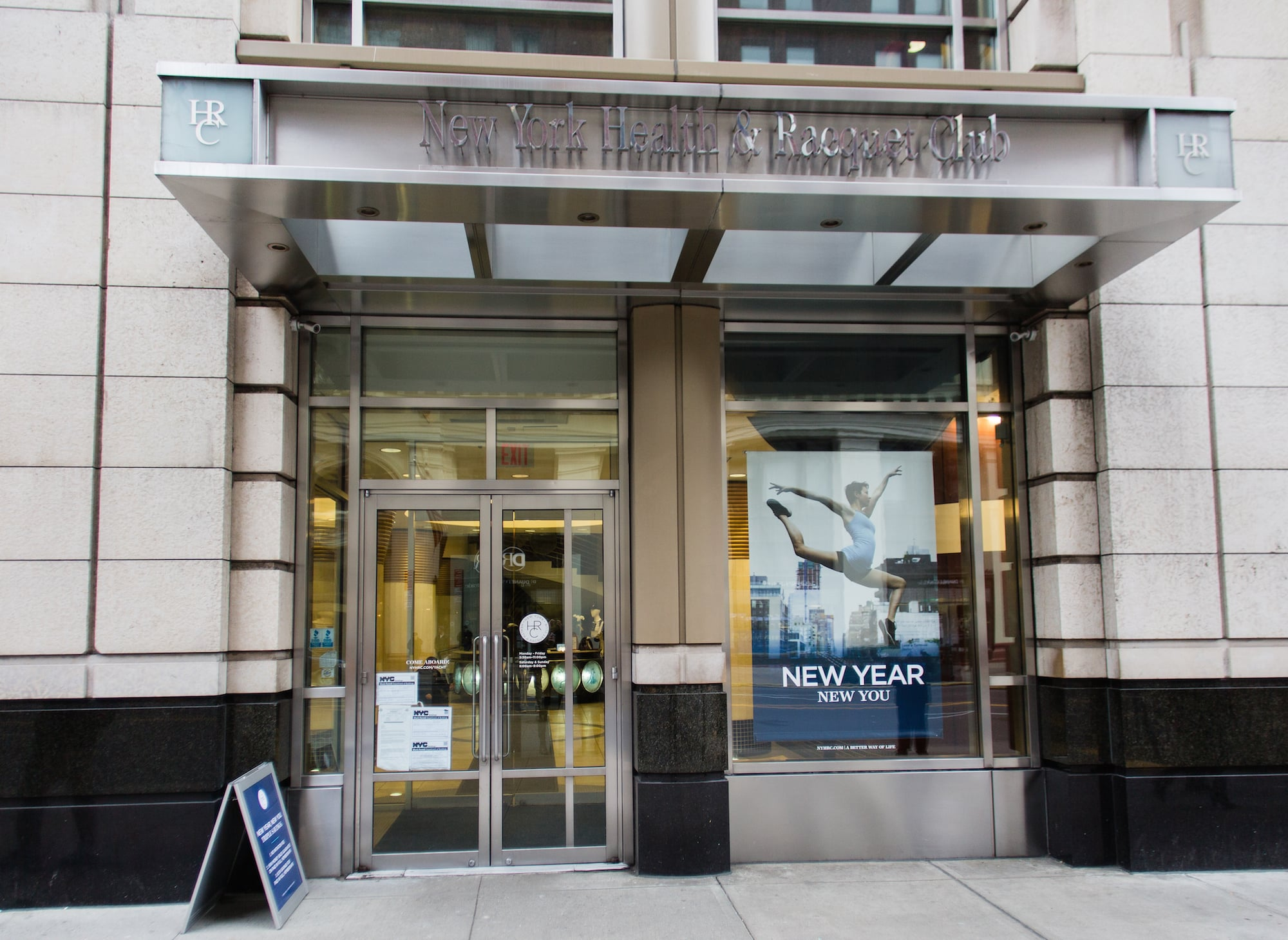New York Health & Racquet Club:  60 West 23rd St. 6th Ave.New York,NY 10010 -Members receive access to a monthly membership for just $99.