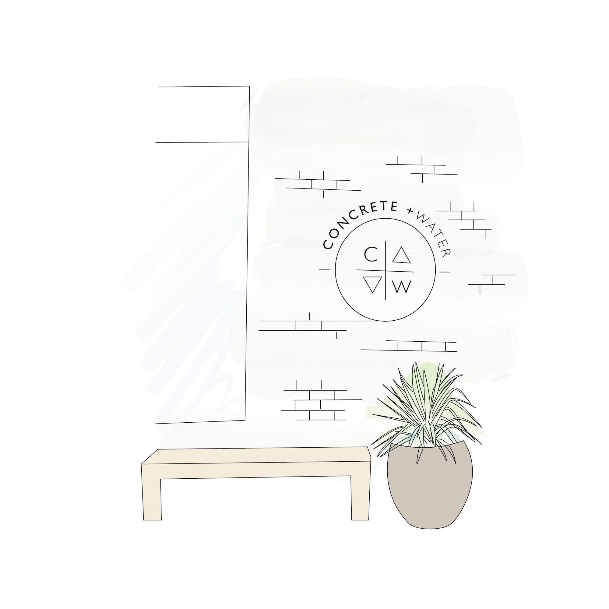 Concrete + Water  - 485 Driggs Ave, Brooklyn, NY 11211