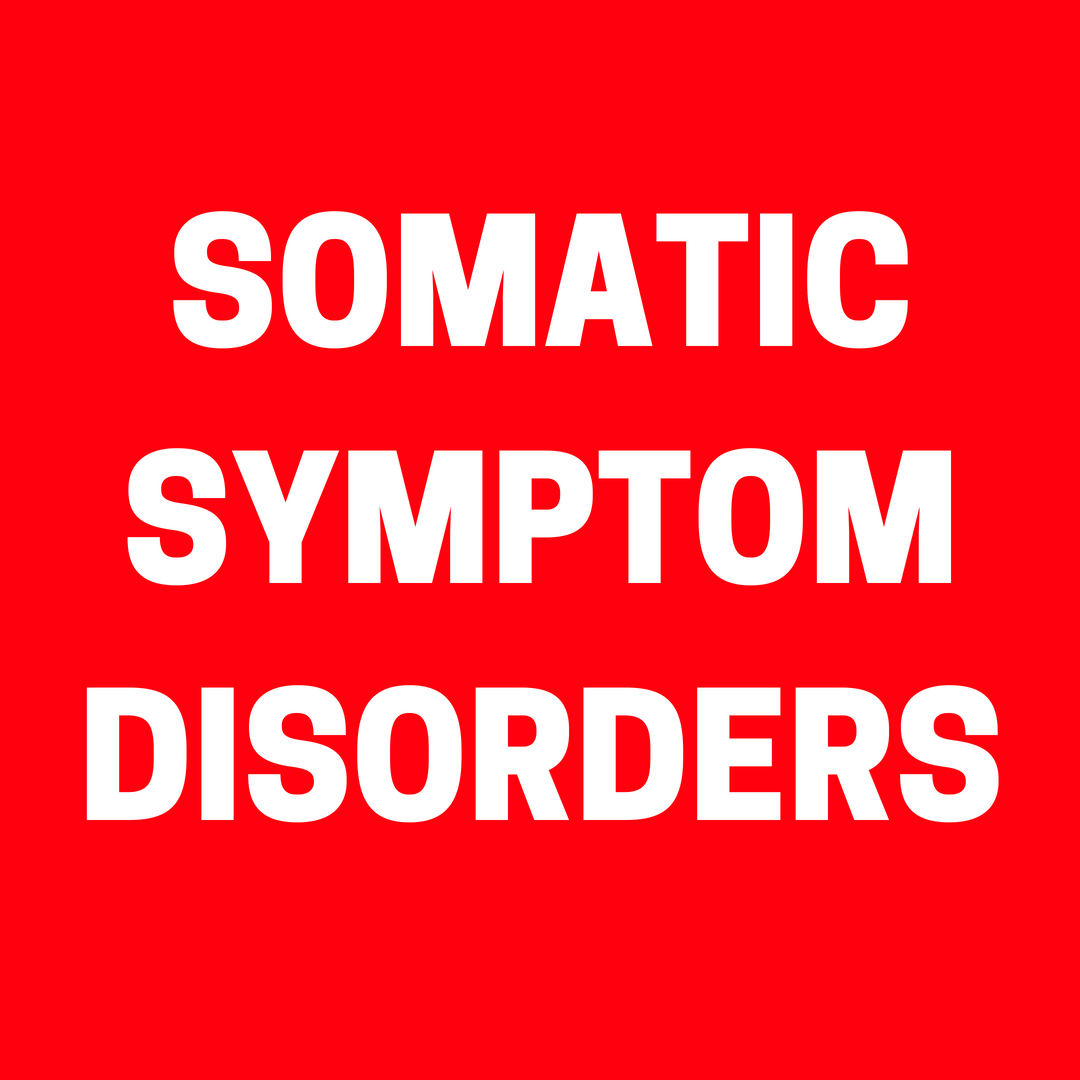 Somatic Symptom Disorders