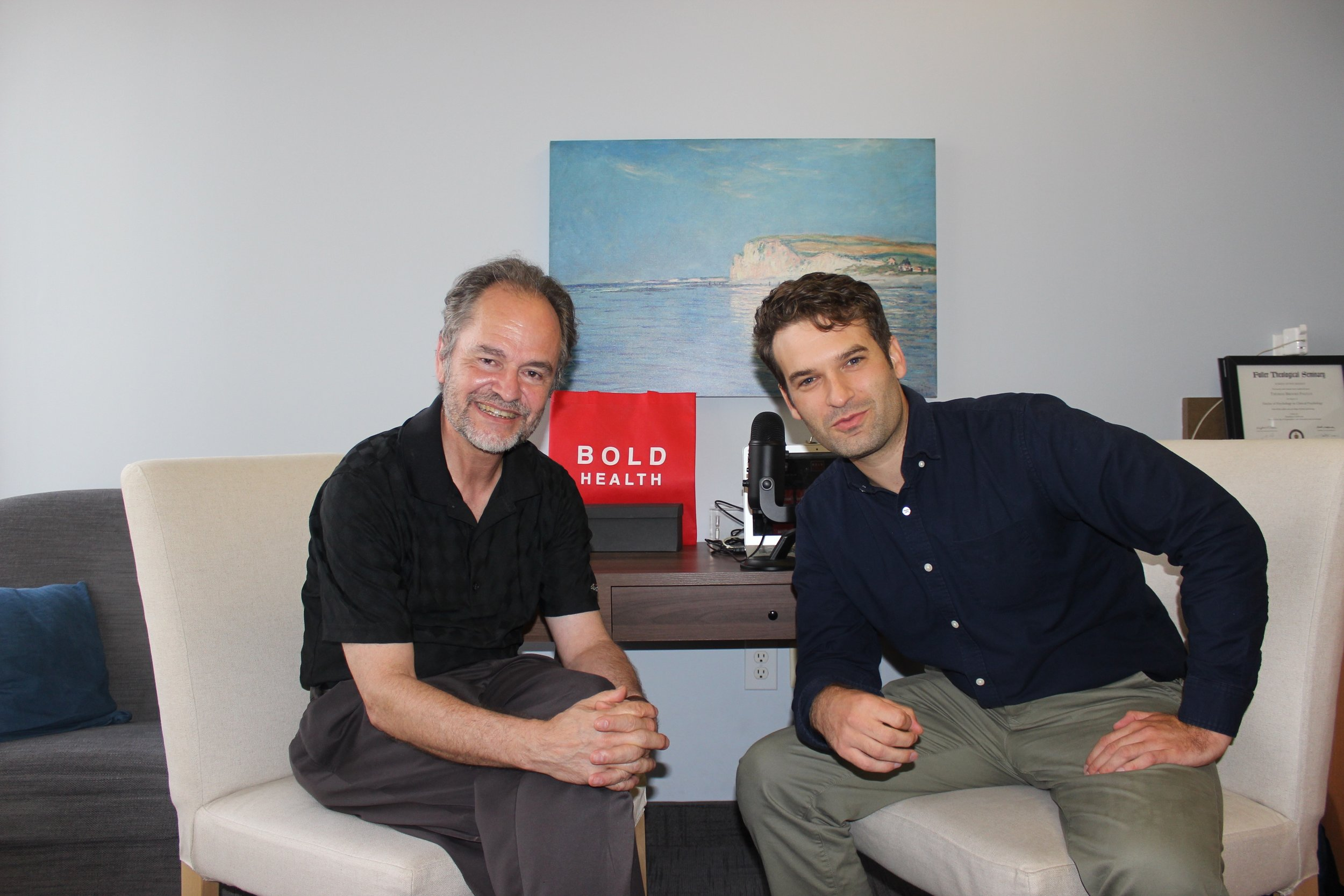 Dr. Thomas Paulus interviews legendary therapist Jon Frederickson - BOLD Voices podcast - Ep. 1