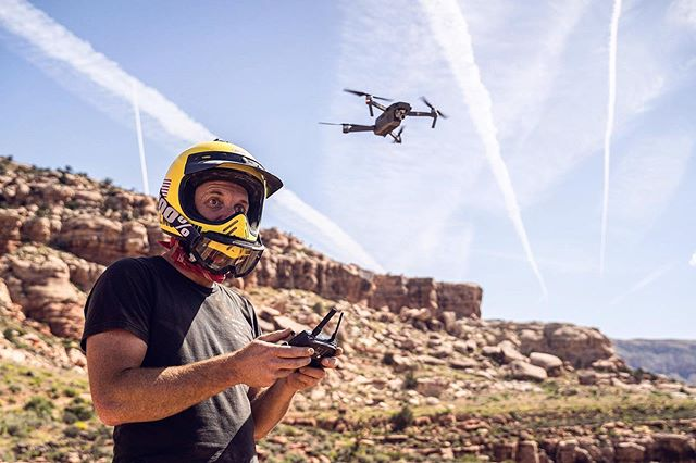 Here's @vernmoen launching an air strike on the visual memories of some unsuspecting atv'ers for a recent @wilderness trip in the Grand Canyon.  If you enjoy going on trips where things go wrong, then you should consider @wilderness.  Please drone safely everyone.  #filmmakingiseasy