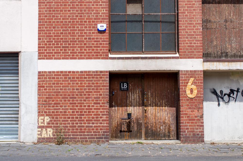 Like Butter's workshop exterior, on Elizabeth Street. Photo by Susan Fitzgerald.