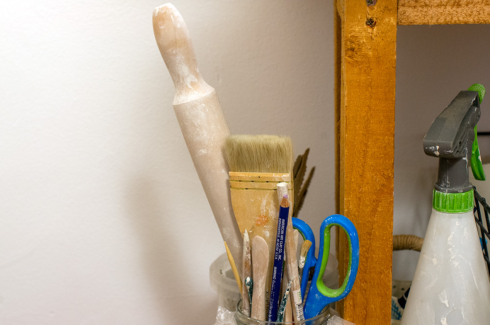 More tools of the trade, for ceramics. Photo by Susan Fitzgerald.