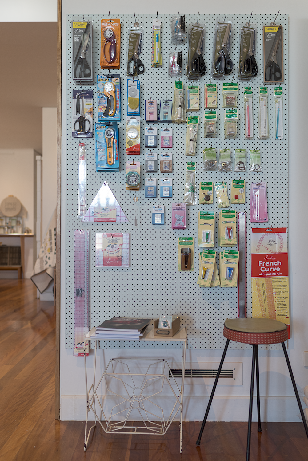 Pinboard of goodness, with lots of Clover products.Photo by Susan Fitzgerald.
