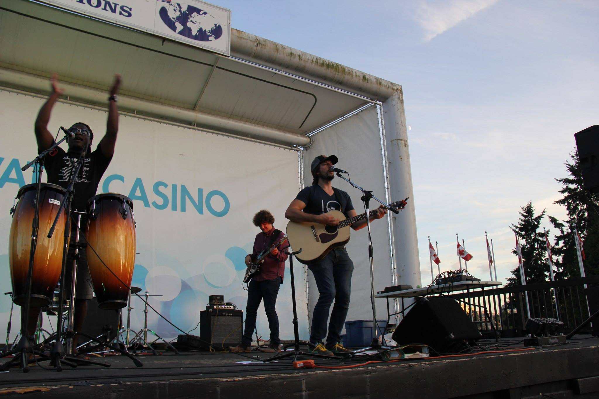 The John Welsh Band performing live at Edgewater Casino by False Creek in Vancouver, British Columbia