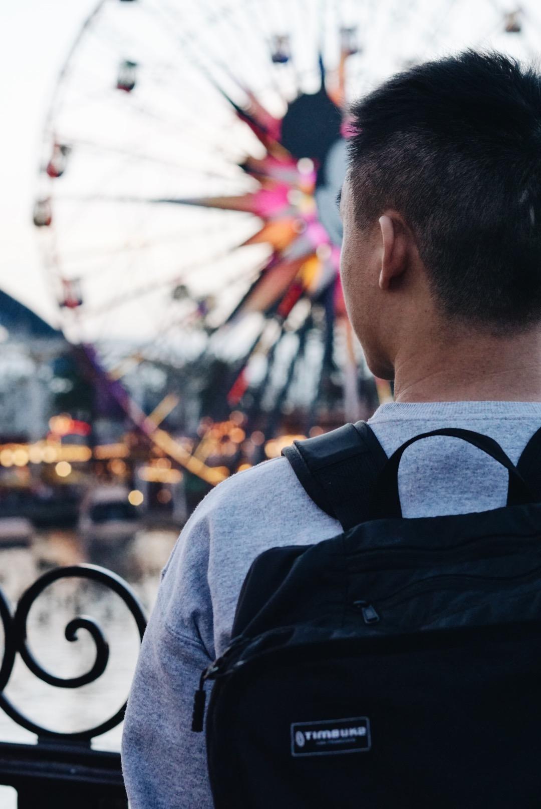 Disneyland-CA-Adventure-Bokeh