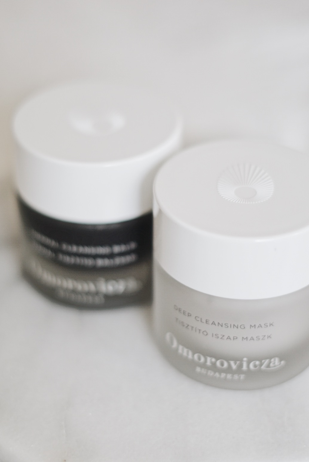 Omorovicza Thermal Cleansing Balm and Deep Cleansing Mask