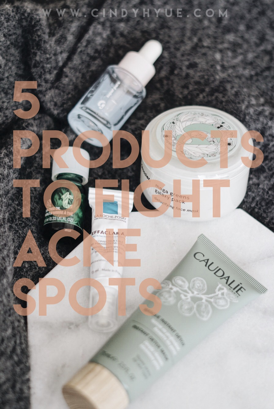5 Products to Fight Acne Spots Pinterest