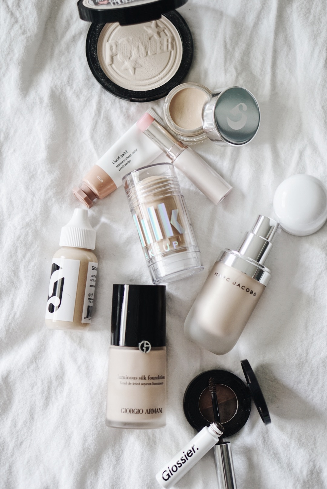 makeup-edit-soapandglory-milk-makeup-mars-glossier-cloud-paint-marc-jacobs-beauty-giorgio-armani-anastasia-beverly-hills