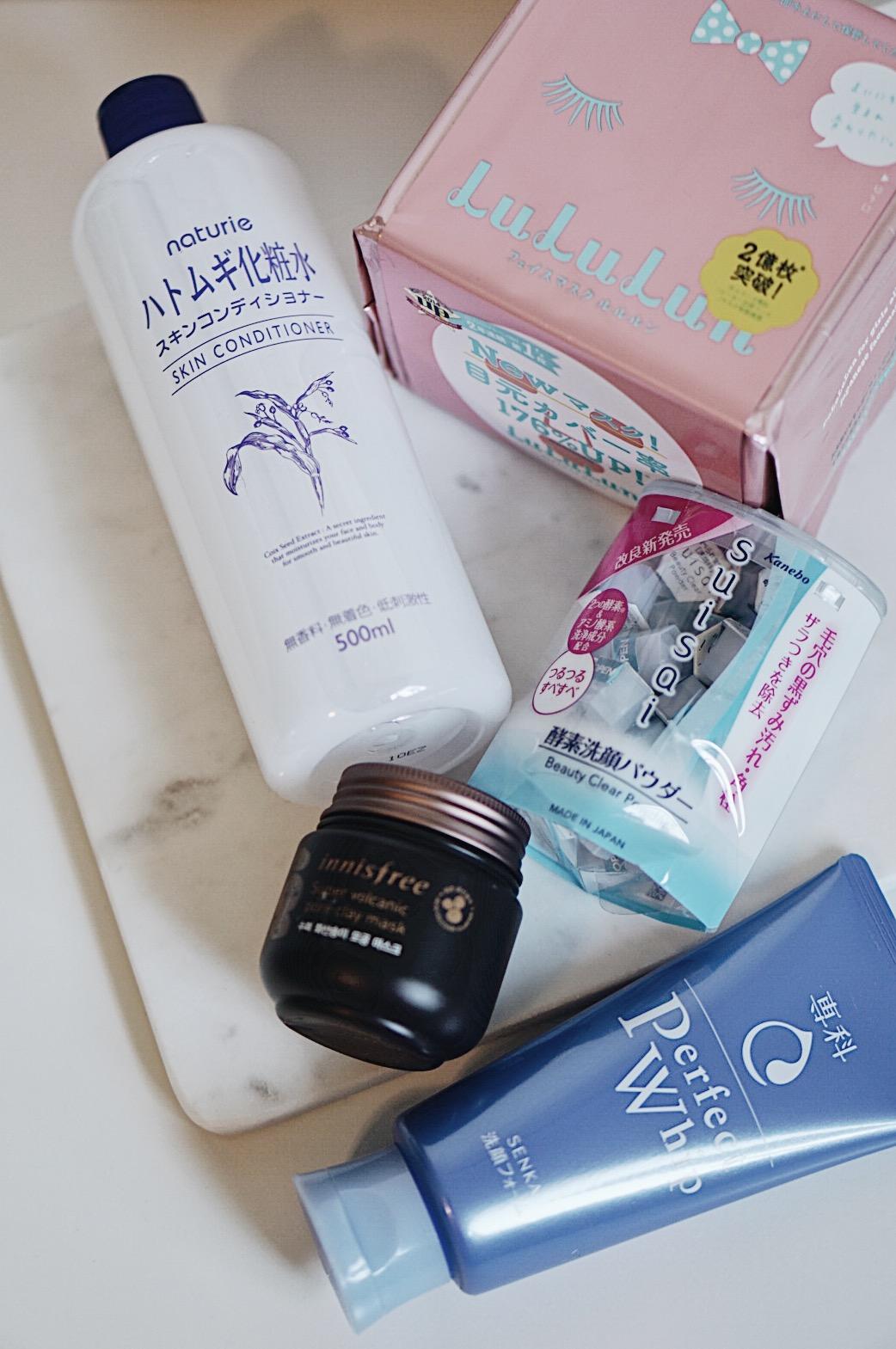 Asian Skincare To Buy: Lululun, Senka, Suisai, innisfree, Naturie Hatomugi