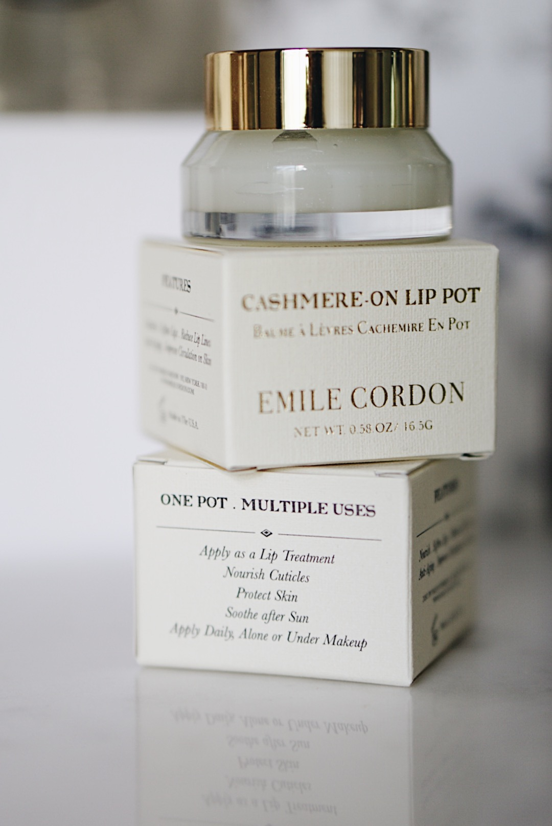 Emile Cordon Cashmere-On Lip Pot No. 72 Coco