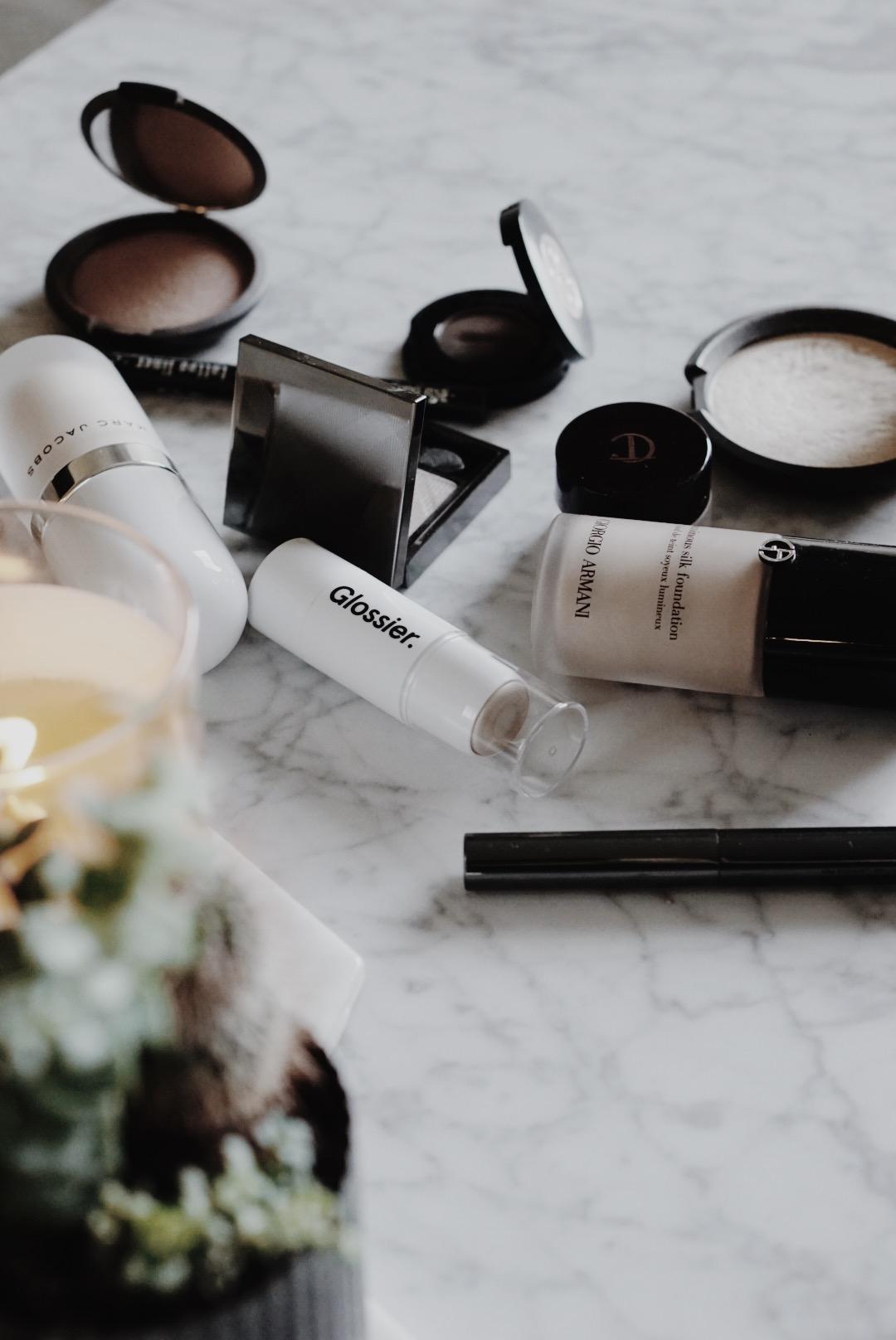 CHY-Makeup Shakeup for Fall - Glossier Giorgio Armani Becca Charlotte Tilbury Marc Jacobs Burberry