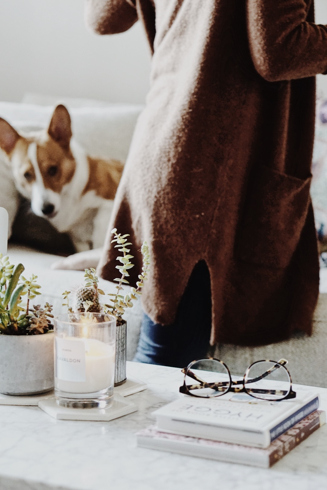Fall Sweater Weather, Madewell, Firmoo, Candle