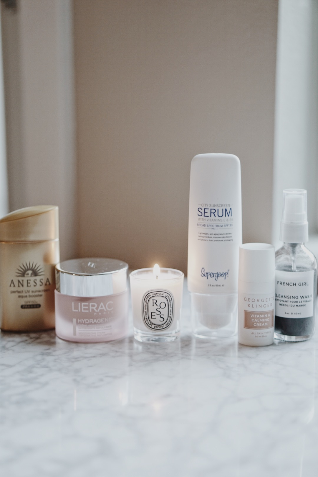 New Skincare Additions Supergoop French Girl Lierac Anessa Georgette Klinger