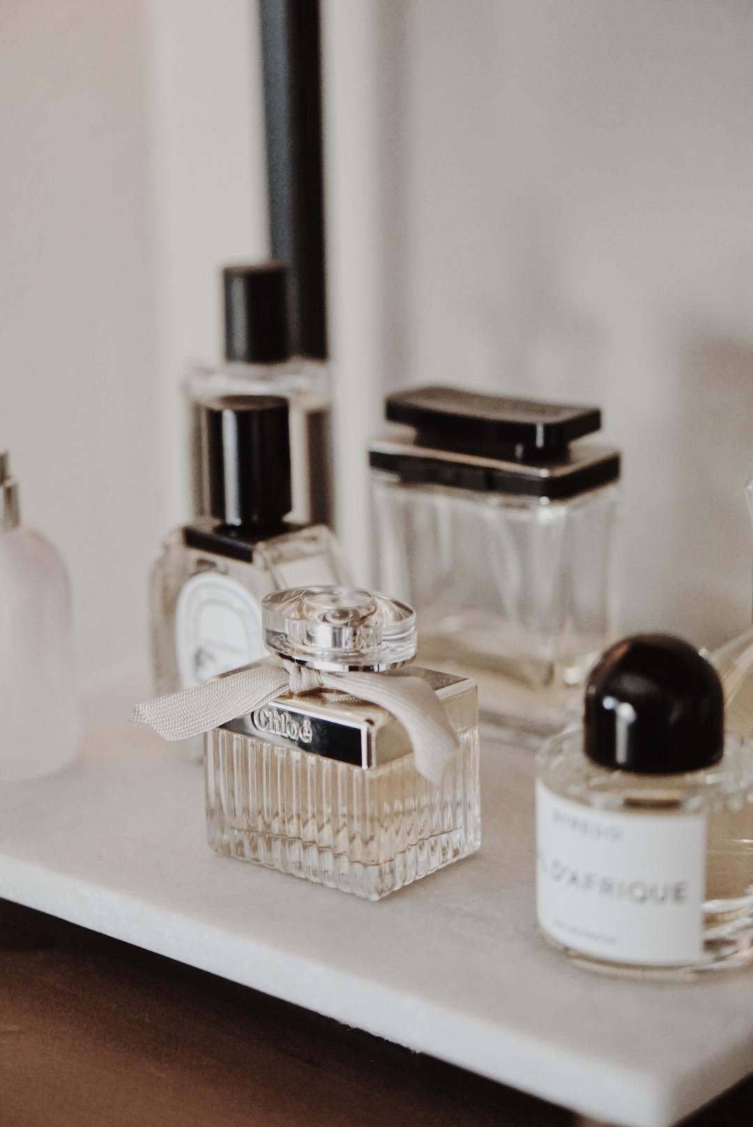 Fragrance Wardrobe - Chloe EDP, Marc by Marc Jacobs, Byredo Bal d'Afrique