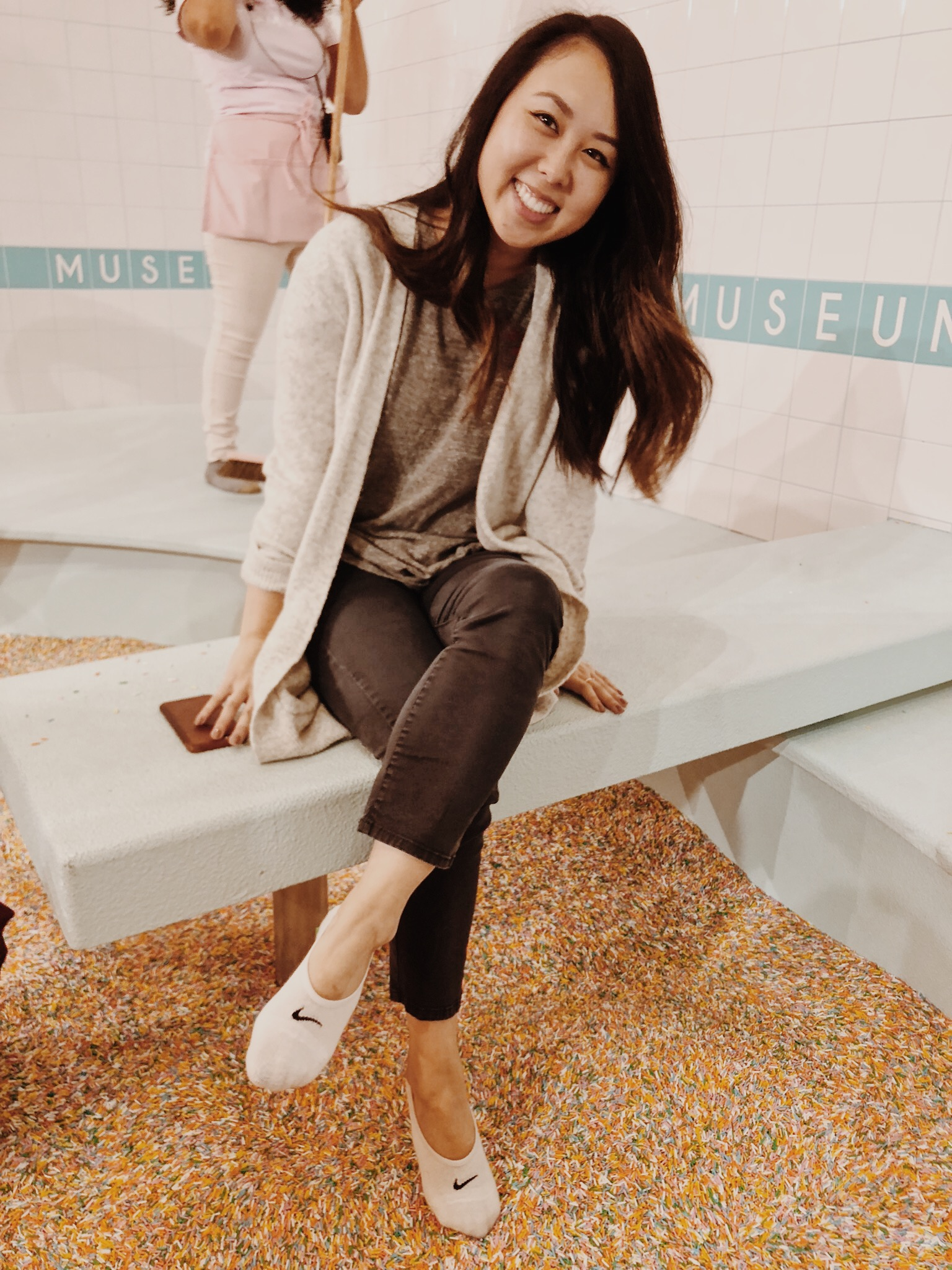 Museum of Ice Cream Milennial Pink Sprinkle Pool Room