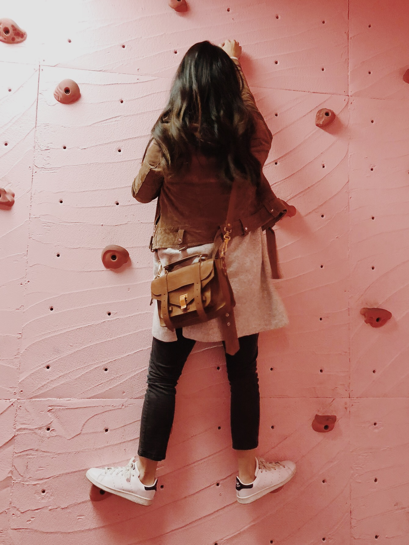 Museum of Ice Cream Milennial Pink Disco Rock Climbing Wall