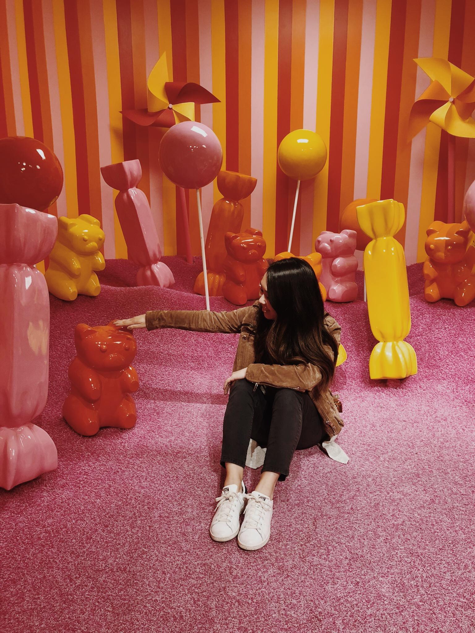 Museum of Ice Cream Milennial Pink Gummy Bear Room