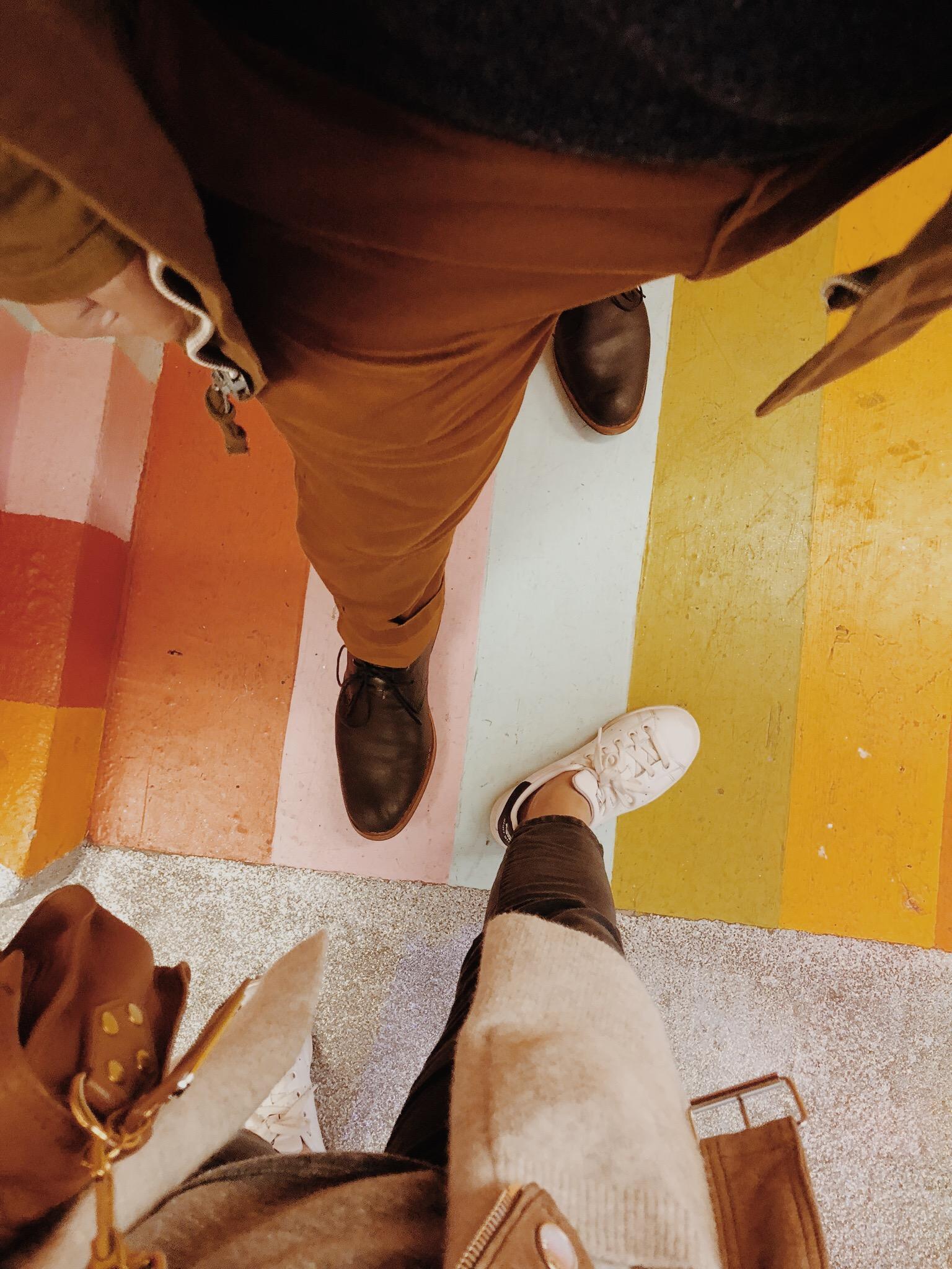 Museum of Ice Cream Milennial Pink Rainbow Room