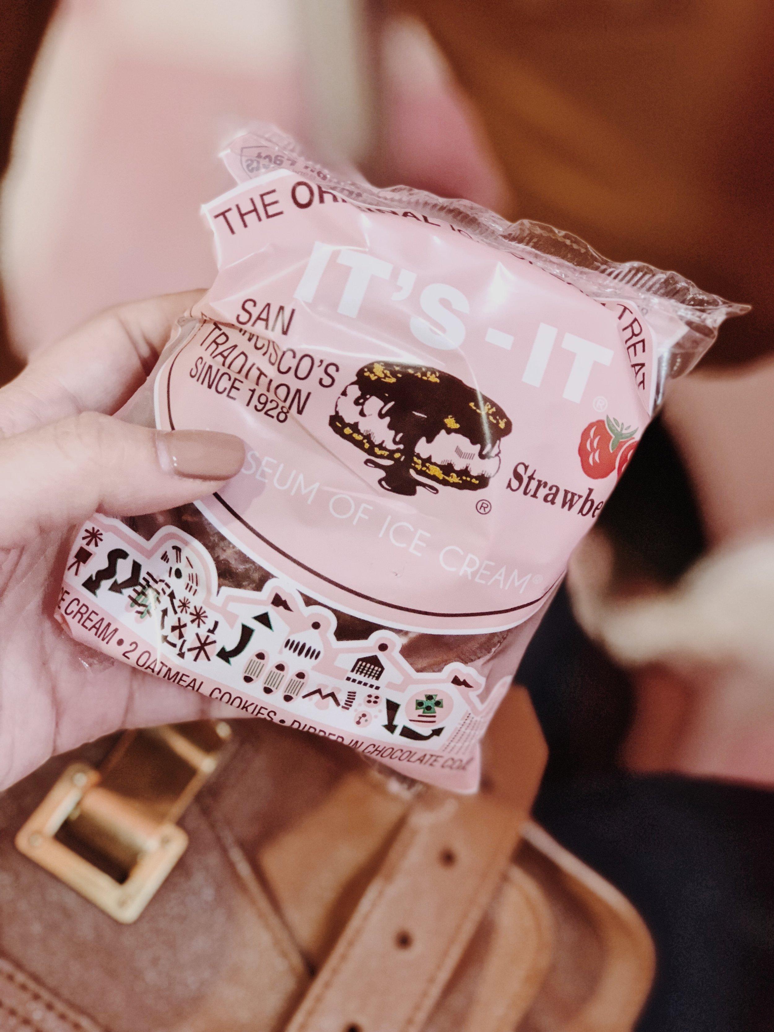Museum of Ice Cream Milennial Pink It's-It Ice Cream