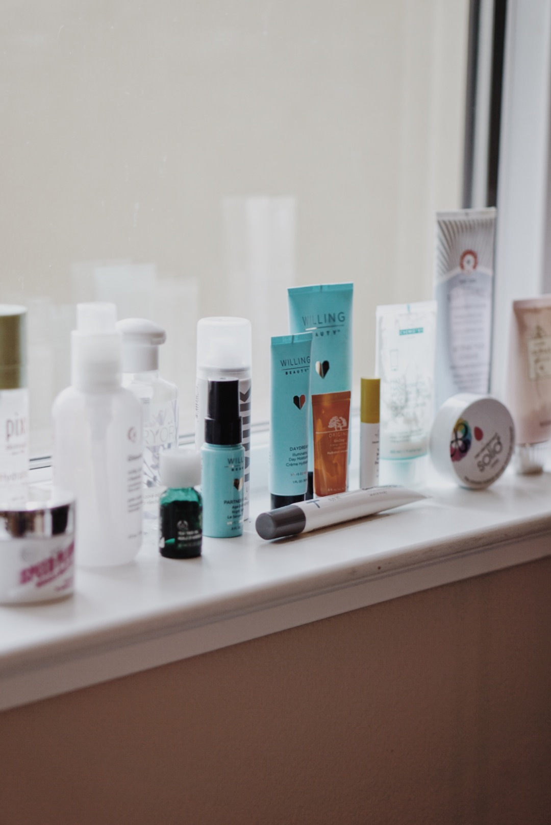 CHY Empties NYM Brands, Soap and Glory, Origins, MISSHA, Glossier, First Aid Beauty, Deciem, Pixi Beauty