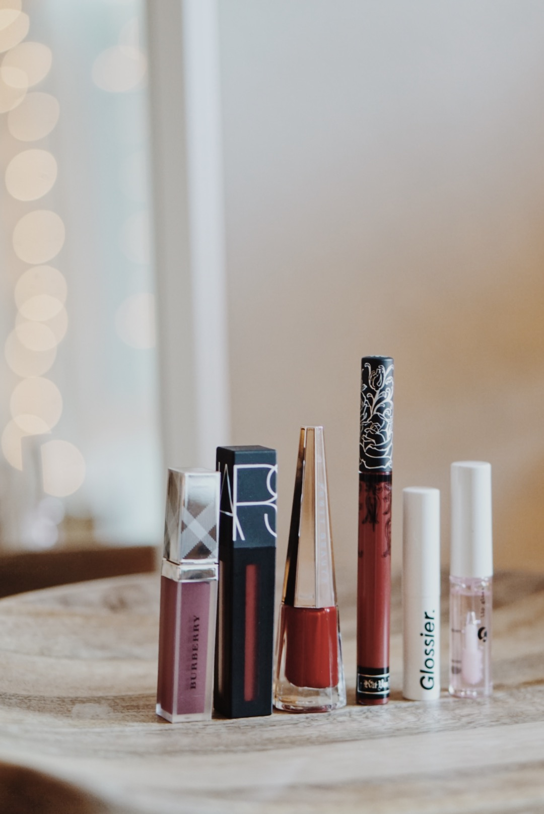 Holiday Red Lipstick Options - Burberry, NARS, Kat Von D, Glossier