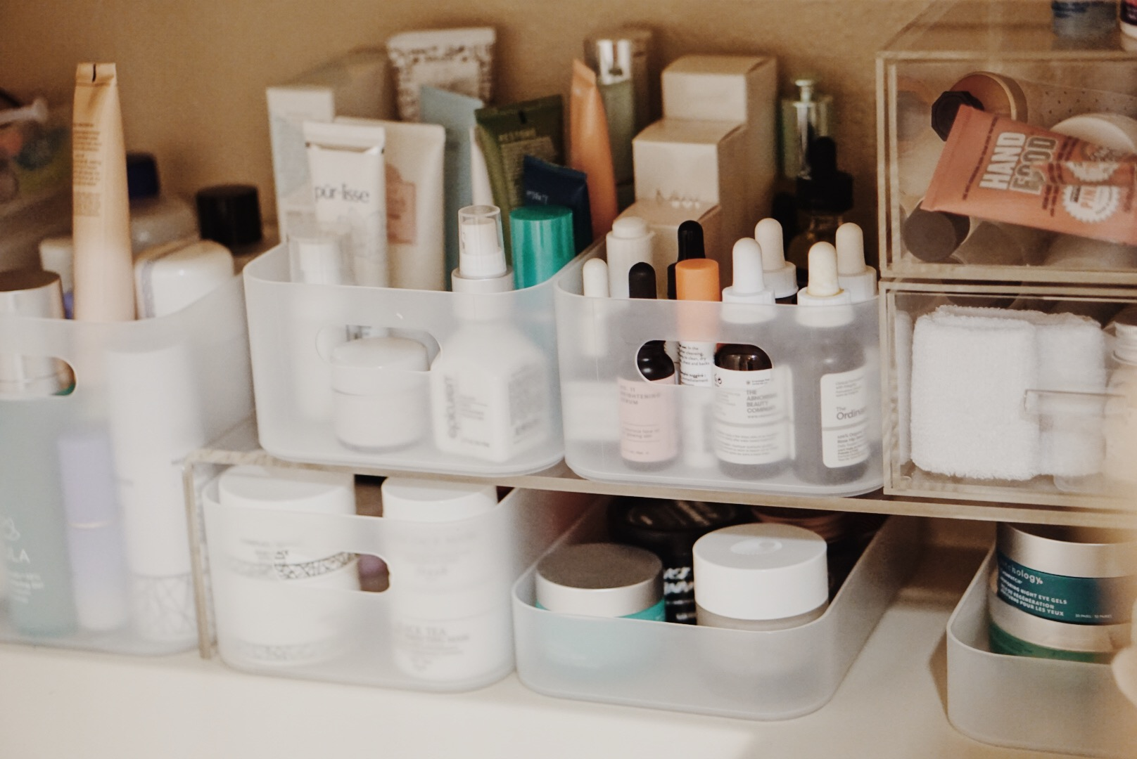 Organizing Your Skincare Stash