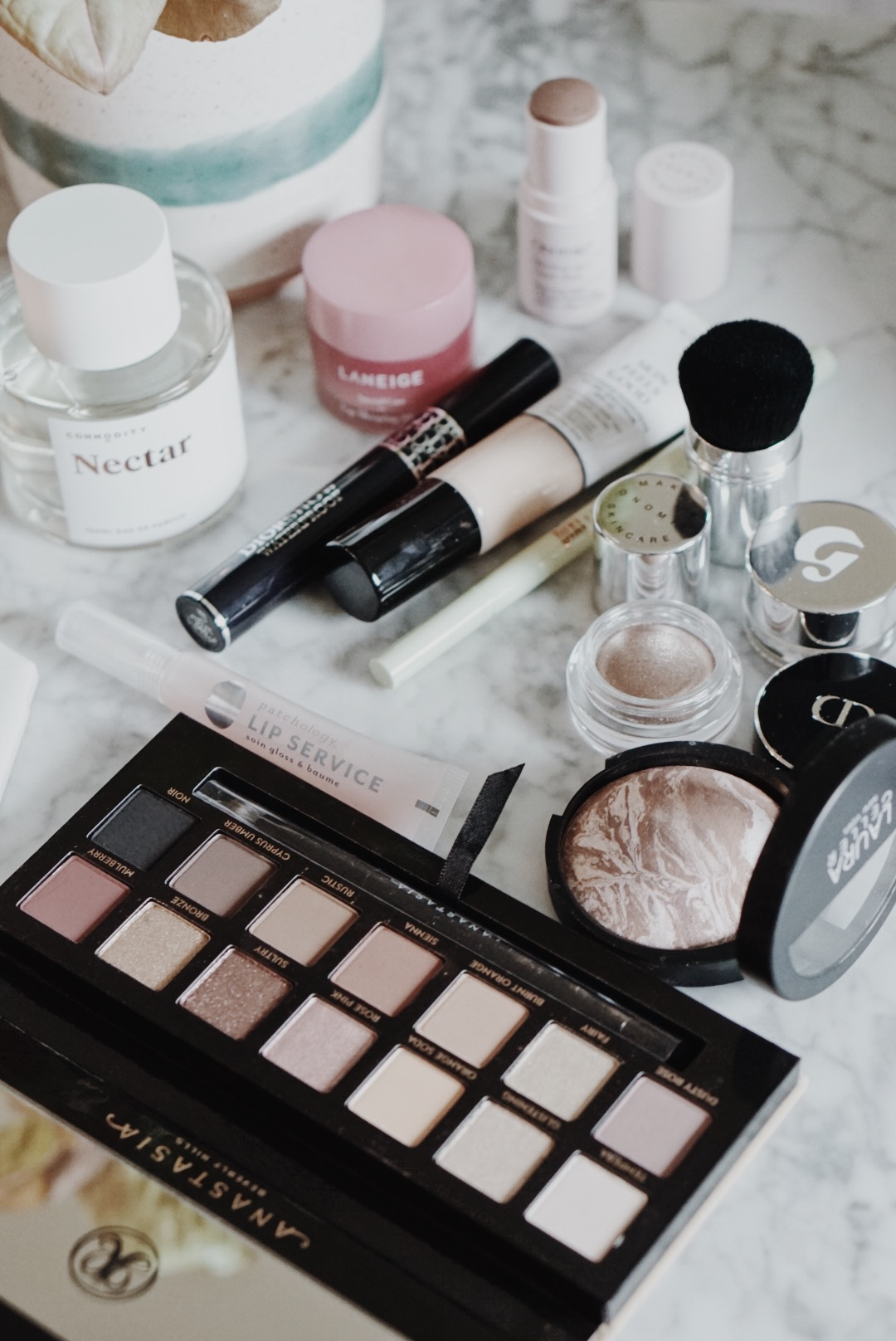 CHY Makeup Shakeup: Lancome, Glossier, Dior, Pixi, Laneige, Onomie, Patchology, Commodity, Anastasia Beverly Hills