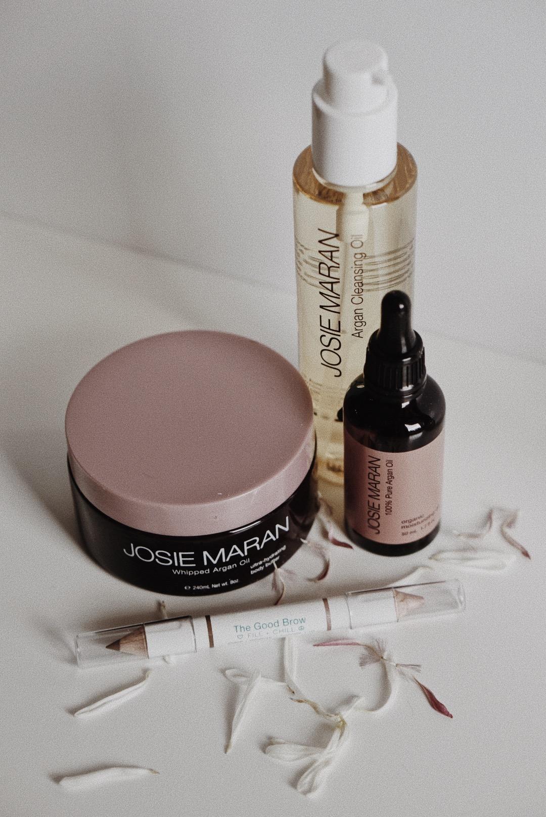 Josie Maran Argan Oil Skincare Products