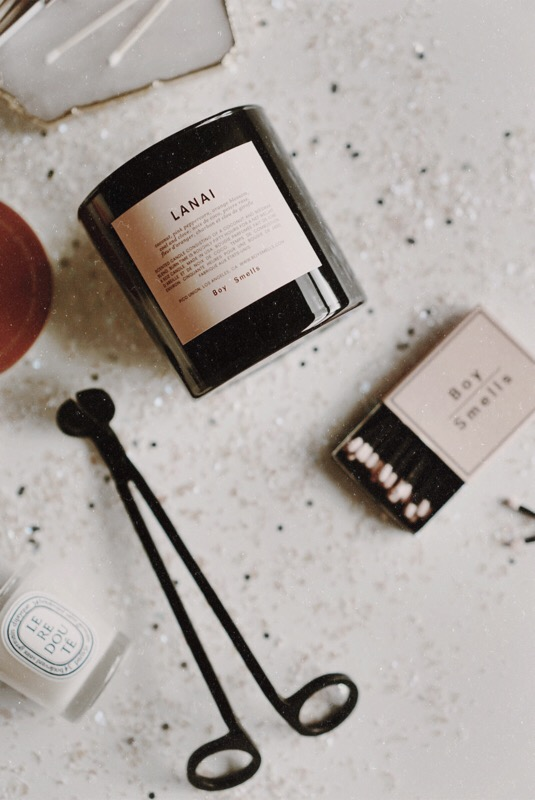 CHY Gift Guide Candle :: Boy Smells Lanai, The Stell New York