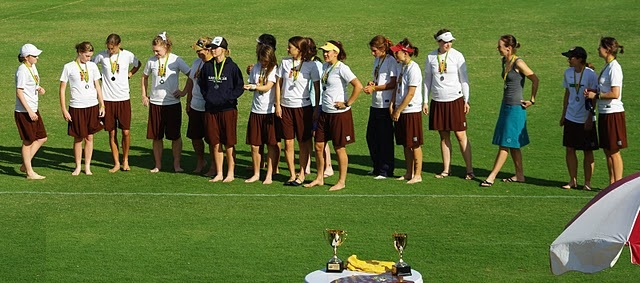 Medal ceremony at AUC