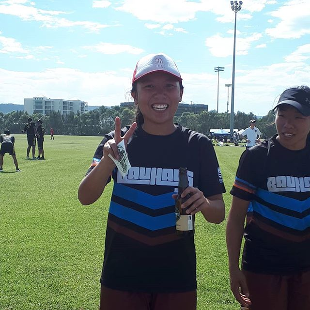 Unfortunate loss to Manly (15-3) but some excellent flow down the field and some awesome hucks to score!  Chloe Ong coming away with the MVP prize! #bauhausultimate #div2nats #wollongong #aucdiv2