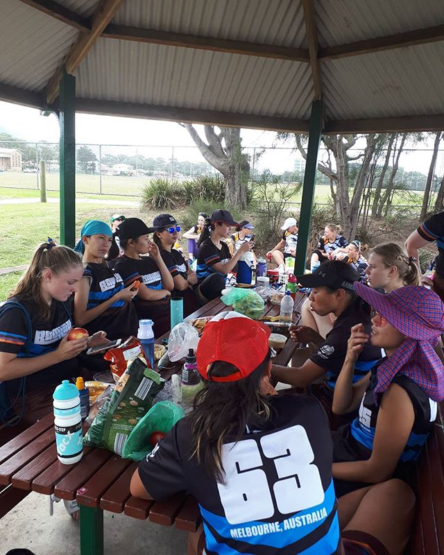 Refuelling for our next game against Inland Gypsies.  The game will be livestreamed at 2pm. Check out @ultimateaustralia YouTube channel for the stream!  #bauhausultimate #womeninsport #ultimatefrisbee #aucdiv2