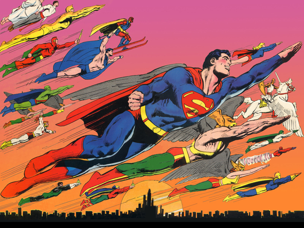 In the 70's DC Comics was Neal Adams. It was his versions of the heroes, especially Batman, that became standard. I would copy an trace his art, begging it to reveal its secrets. It never did.