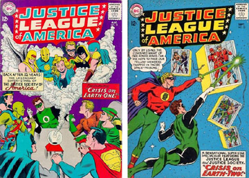 The JSA and the JLA, together for the first time! How many kids bought extra copies?