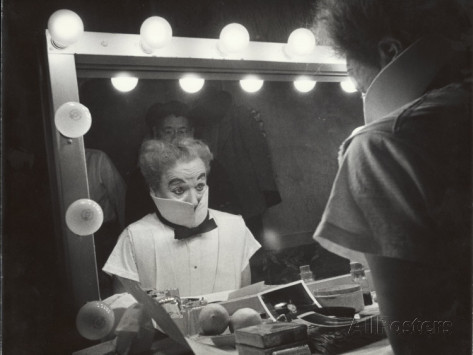 The actor and the mirror. Charlie always seemed to know the soul of humanity.