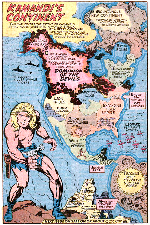 The World of the Great Disaster, the World of  Kamandi.