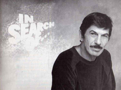 Leonard Nimoy, host of the series  'In Search Of',  Rod Serling was unavailable due to being deceased.  Or was he..?
