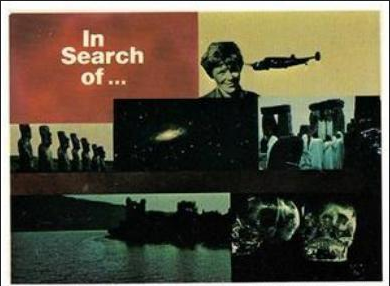 The classic ' In Search of ' title card! Mystery and the paranormal is only seconds away…