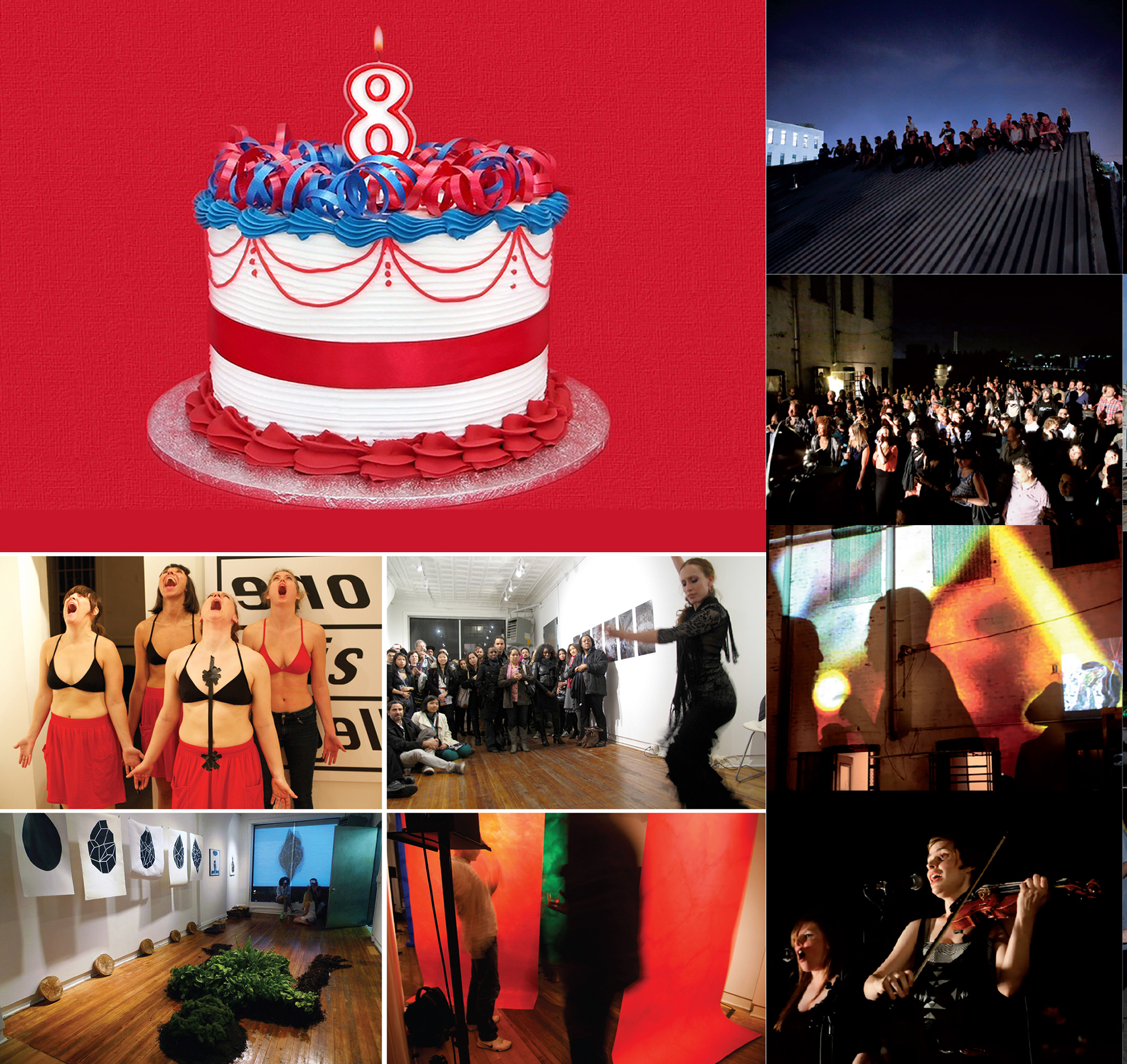 BIRTHDAY BASH - Monday, Feb 4, 20197:30 pm @ Mothership NYCLet's celebrate NOoSPHERE Arts' 8th Anniversary! Musical acts by two beloved Mothership regulars: Katy Gunn (singer-songwriter & musical performance artist, NYC/Copenhagen) and Lenna Pierce (singing cellist, NYC) and interactive dance performance by Daisy Bugarin & Crew from the Semillas Collective (NYC/Mexico). Exhibition of visual art by NOoSPHERE Artists from across the globe.