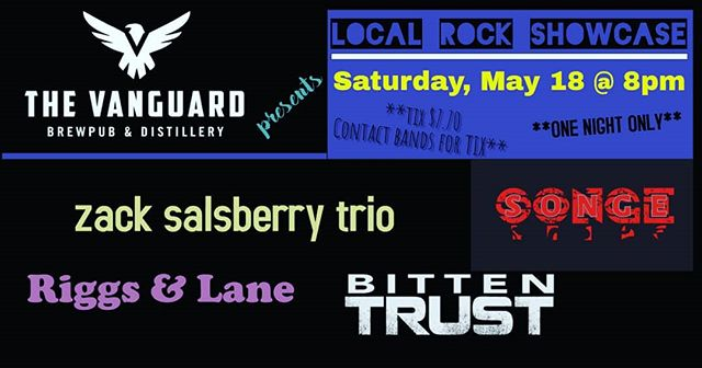 Gonna be a killer show at @thevanguard757 Saturday night !! Only $7 plus tax...4 bands under one roof. MESSAGE FOR TIX . Let's do this !! https://www.facebook.com/events/2437483583186707/?ti=cl  #supportlivemusic #rock #gigs #concerts #hampton #hamptonroads #757music #gibson #microbrewery