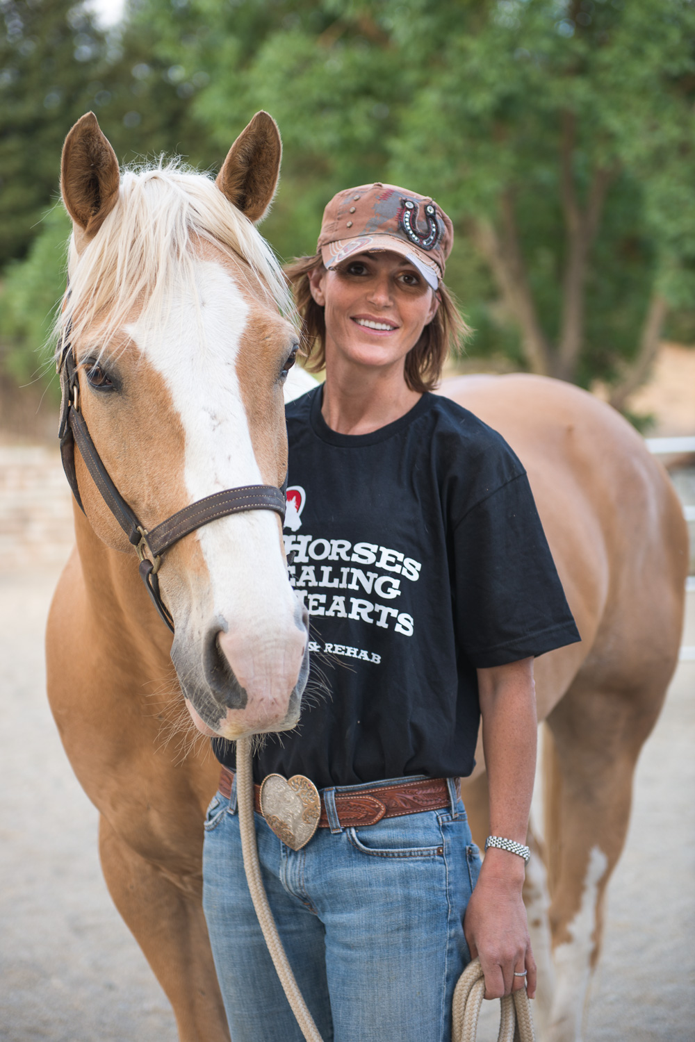 Melissa at Horses Healing Hearts // Ashley Petersen Photography